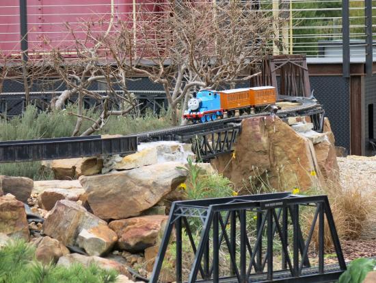Overland Park Arboretum And Botanical Gardens: Kidsu0027 Area At The Train  Garden