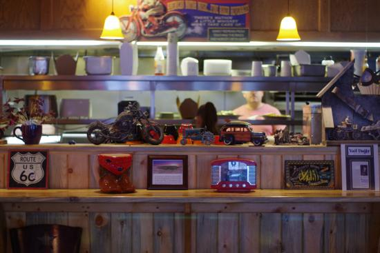 Route 6 Cafe: Kitchen