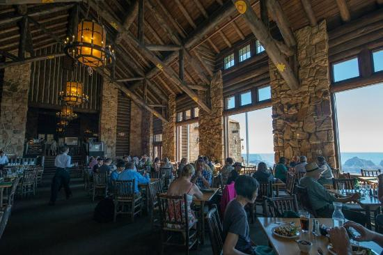 Beautiful Grand Canyon Lodge Dining Room: Grand Canyon North Rim Lodge Dining Room Part 2