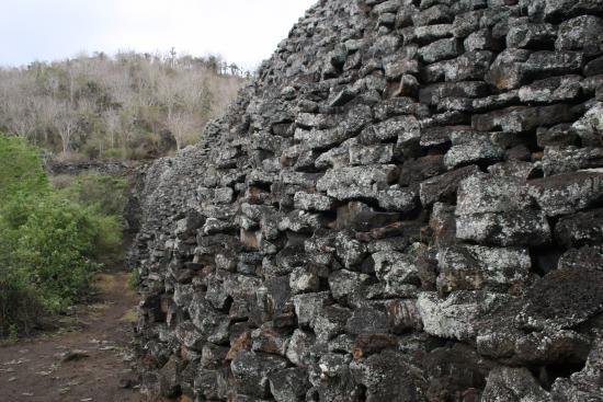 Puerto Villamil, Ecuador: Muro de las lágrimas