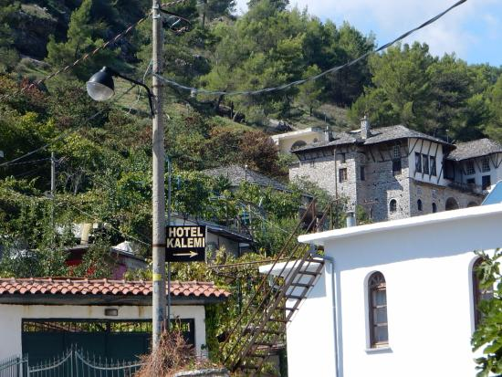 Hotel Kalemi: sign post