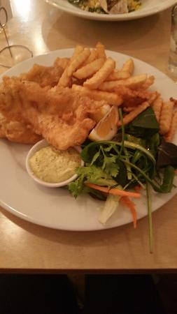 Te Kuiti, نيوزيلندا: Fish and Chips