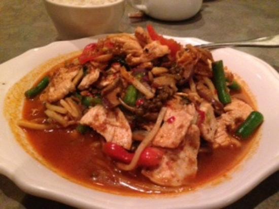 Phad phed pha aiyara thai restaurant leesburg f nyk pe for Aiyara thai cuisine