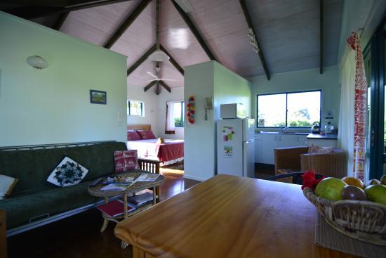 Aroa Kainga: Kitchen, lounge, dining