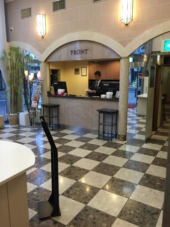 ホテル ルウエスト 名古屋, フロント