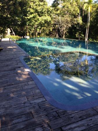 Chiangmai Highlands Golf and Spa Resort : infinty saltwater pool, great for a dip after golf