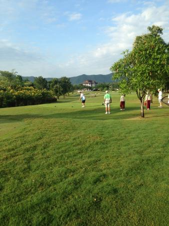 Chiangmai Highlands Golf and Spa Resort : on the golf course