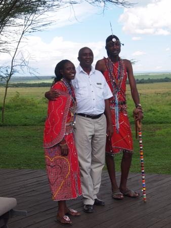 andBeyond Kichwa Tembo Tented Camp: Stanley Ann and James