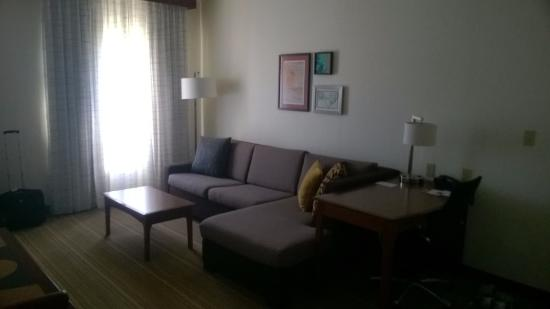 Residence Inn Chicago Naperville/Warrenville: Sofa