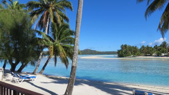 Aitutaki Lagoon Resort & Spa: View