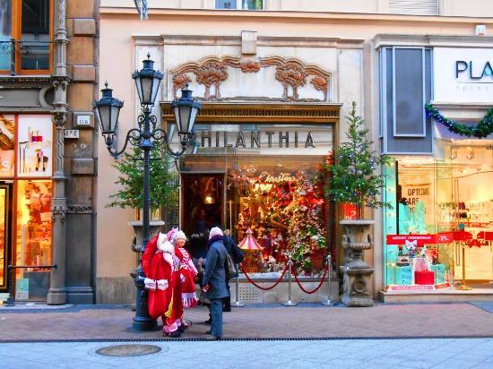 Vaci Street: Магазин Филантия. Новогодние каникулы от Бон тур