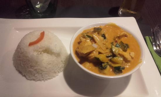 riz thai poulet curry lait coco bild fr n baan tha cognac tripadvisor. Black Bedroom Furniture Sets. Home Design Ideas