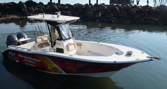Alyangula Australia  city pictures gallery : Alyangula, Australia: Key West 244C. 7.5m with twin 150hp Yamaha 4 ...