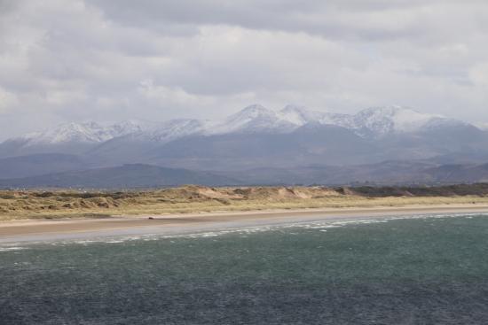 Inch, Irland: Durchwachsenes Wetter, aber tolle Aussicht