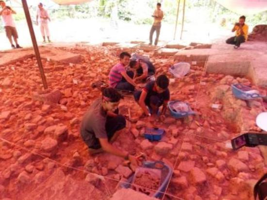Archeology Site, Sungai Batu, Lembah Bujang, Kedah, Malaysia