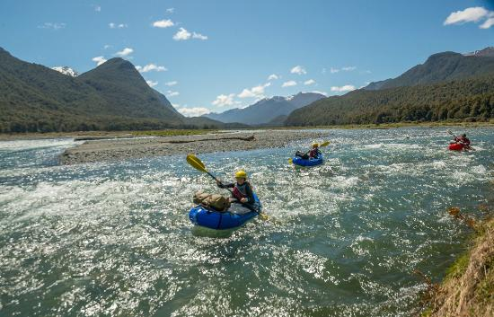Expedition X - Packrafting New Zealand - Queenstown: Scenic paddle