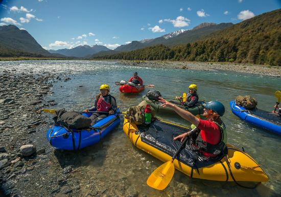 Expedition X - Packrafting New Zealand - Queenstown: Instructions