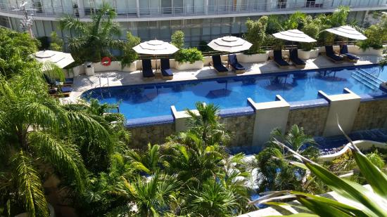 Porto Playa Condo Hotel Beachclub Pool View From 214