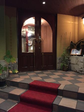 Steak House Restaurant Sho: The entrance of Show
