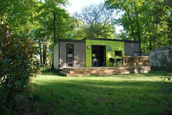 Camping Logis du Breuil : Logement VIP / VIP accommodation