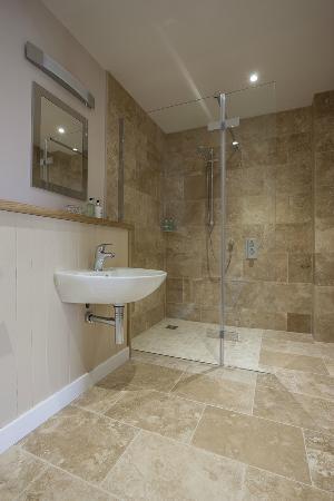 Kylesku, UK: bathroom Willie's Hoose