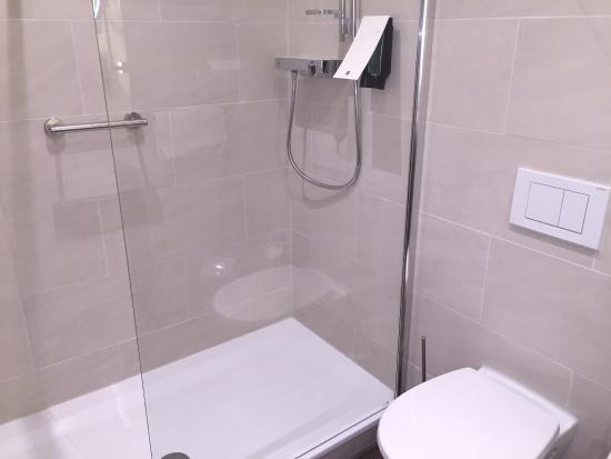 Hotel Dreiländerbrücke: badkamer