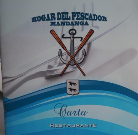 Carta 3 Picture Of Hogar Del Pescador Mandanga Santurtzi