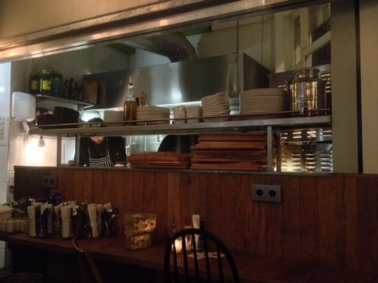 Open Keuken Bar : De open keuken picture of eddy spaghetti amsterdam tripadvisor