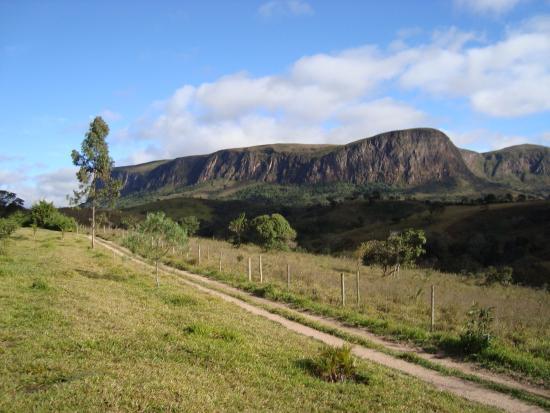 São Roque de Minas, MG: vista geral