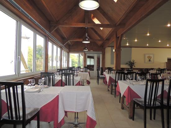 Hotel des Voyageurs : salle de restaurant