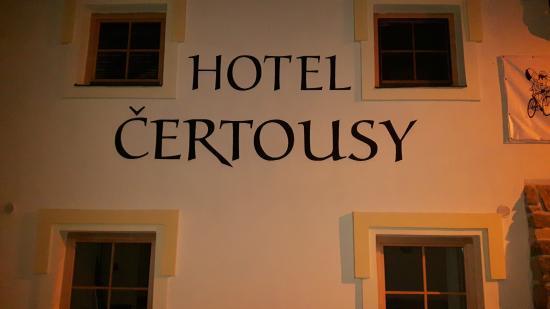 Hotel Certousy: mooi hotel