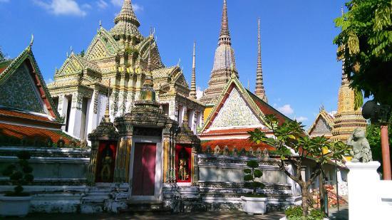 Wat Pho (Templo de Buda reclinado)