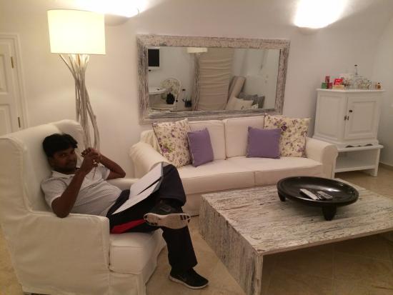 San Antonio Suites: The sitting room