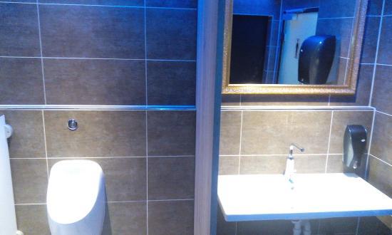 Freilassing, Tyskland: Herrentoilette