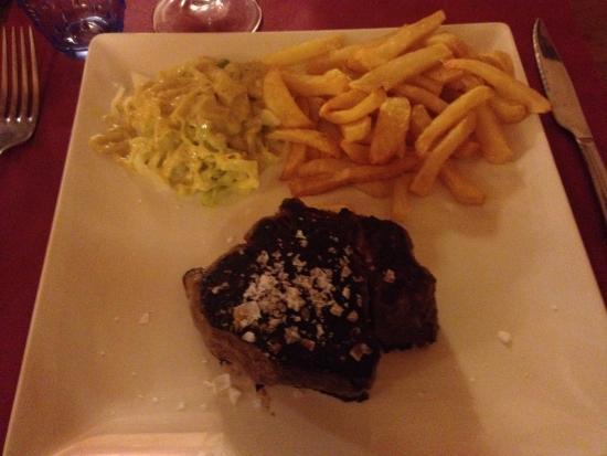 Casa Abilio: Super heerlijke biefstukken.