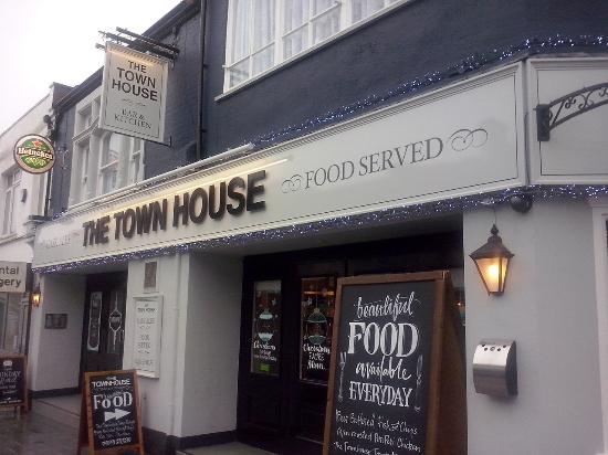 Outside Bild Von The Townhouse Bar Kitchen Southend On