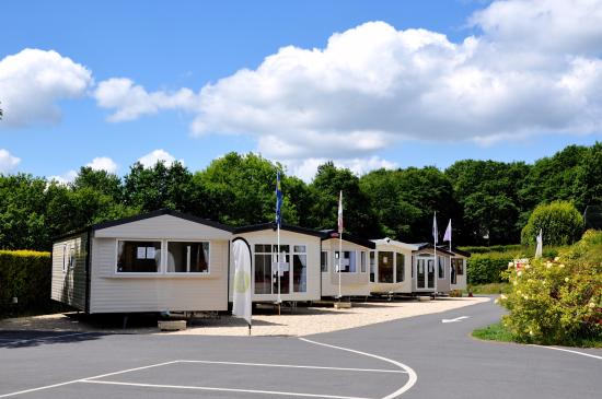 Caravan Sales Area - Picture of Little Lakes Holiday Park