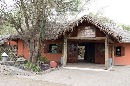Kia Lodge – Kilimanjaro Airport: Reception area KIA lodge
