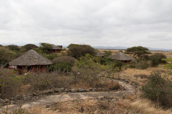 Kia Lodge – Kilimanjaro Airport: Grounds of KIA Lodge