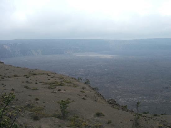 Volcano Park: 火口