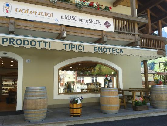 Pozza di Fassa, Italië: La terrazza