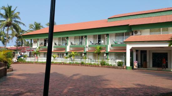 Hotel Goan Heritage: Main Hotel building