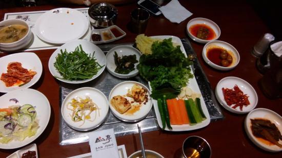 San Jung Korean BBQ