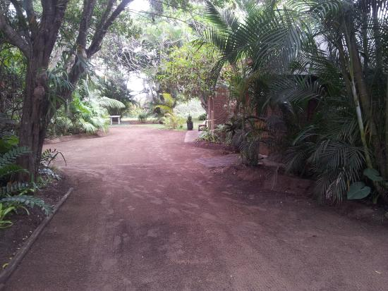 Lake St Lucia Lodge : entrance to our bungalow