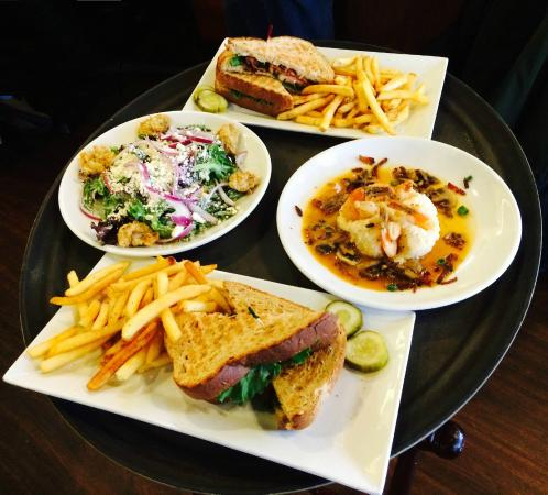Pittsboro Roadhouse & General Store: Tray of Roadhouse Dishes