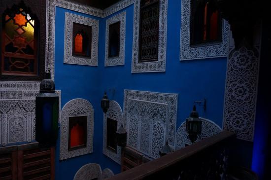Riad Hiba Meknes: Холл