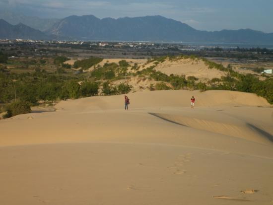 Ninh Thuan Province, Wietnam: Nam Cuong sand hill