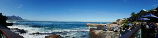 Hermanus, Sudáfrica: Prachtige vergezichten over de oceaan