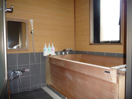 Sasaya Hotel : ひのきの内湯