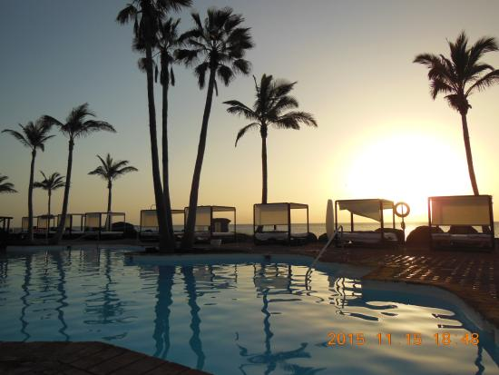 Sunset At Purabar Picture Of Hotel Jardin Tropical Costa Adeje